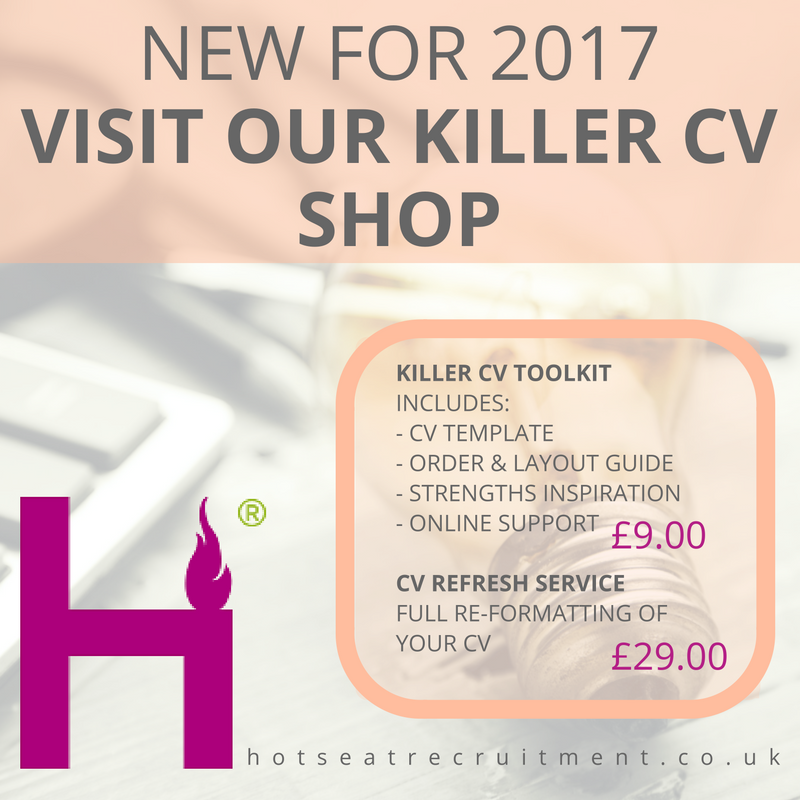 The HotSeat Killer CV Shop - Buy now!